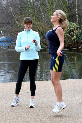 Nicola McLean jumping rope Latest Pics