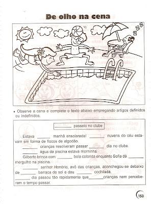 153 Artigos Definidos e indefinidos para crianças