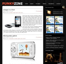 2 Column Templates - FunkyZine