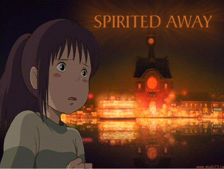 Miyazaki's Spirited Away movies in Italy