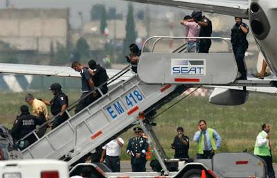 Aero Mexico Jet Hijacked