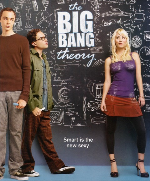 Big Bang Theory. The Big Bang Theory : The tv