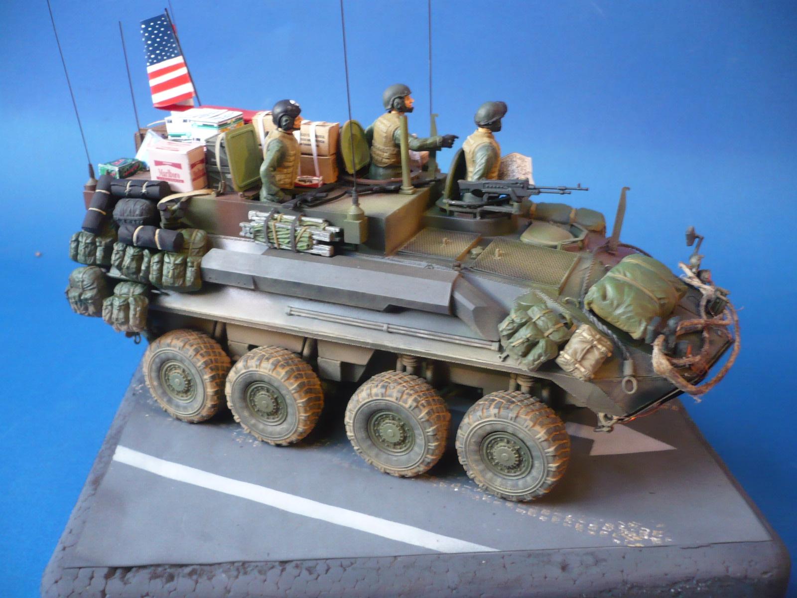 "M O M C H A: LAV-C2,""O.I.F"" U.S. Marine Corps"