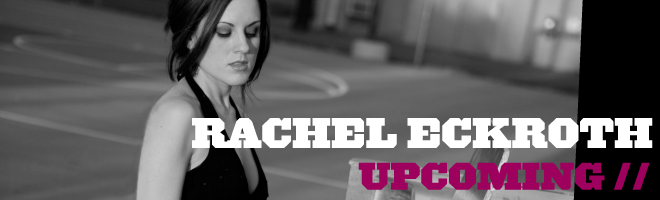 Rachel Eckroth - Upcoming