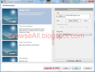 BrowseAll - Lucky Limat | Download Bytescout Watermarking