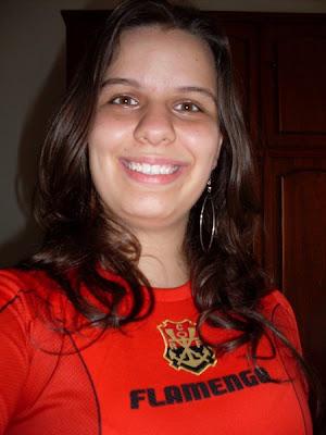 Minha camisa nova do flamengo