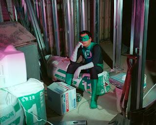 Arqueiro Verde na obra