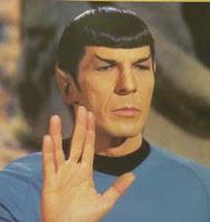 Spock e o seu famoso Vida Longa e Próspera