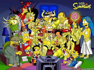Simpsons e Cavaleiros do Zodíaco