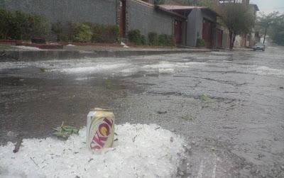 Chuva de Granizo, o que fazer?