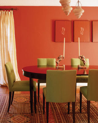 Dining Room Lighting Ideas on Willow Decor   Peep  Ing At Orange