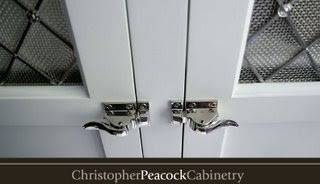 The Peacock Cabinet Latches: There Are Are Two Types Of Latches,