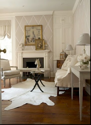willow decor those white and cream cow hide rugs