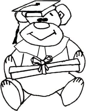 Coloring Cabin Graduation Graduate Coloring Pages