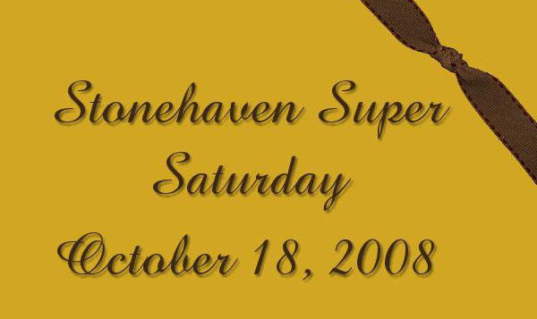 Stonehaven Super Saturday