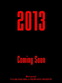 2013 movie poster