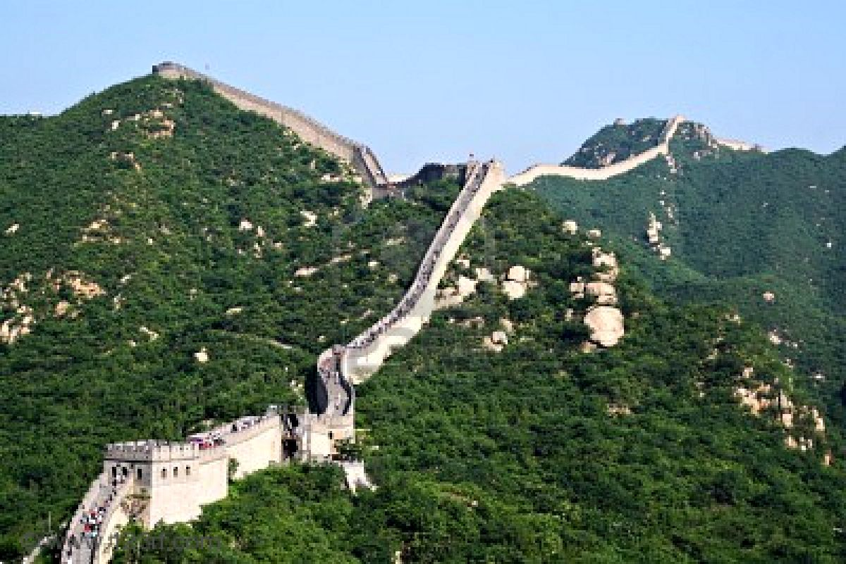 Great Wall Of China Finished Building