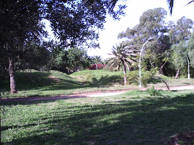 jardin olhao à la ville d'agadir
