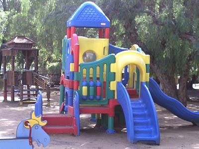 العاب اطفال في حديقة أولهاو
