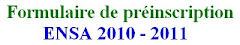 ملف الترشيح لولوج المدرسة الوطنية للعلوم التطبيقية