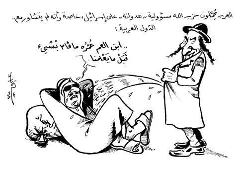 كاريكاتير الخبر الأقوى:  دفع بالمخابرات السعودية إلى الانتقام   وتمويل عمرو أديب وقناته