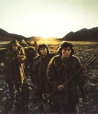 Probable aspecto de los primeros pobladores de América del Norte