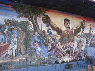 Amautacuna de historia biograf a de emiliano zapata for Emiliano zapata mural