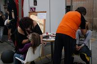 Maquillaje no oficial para la zombie walk 2010 en Sitges