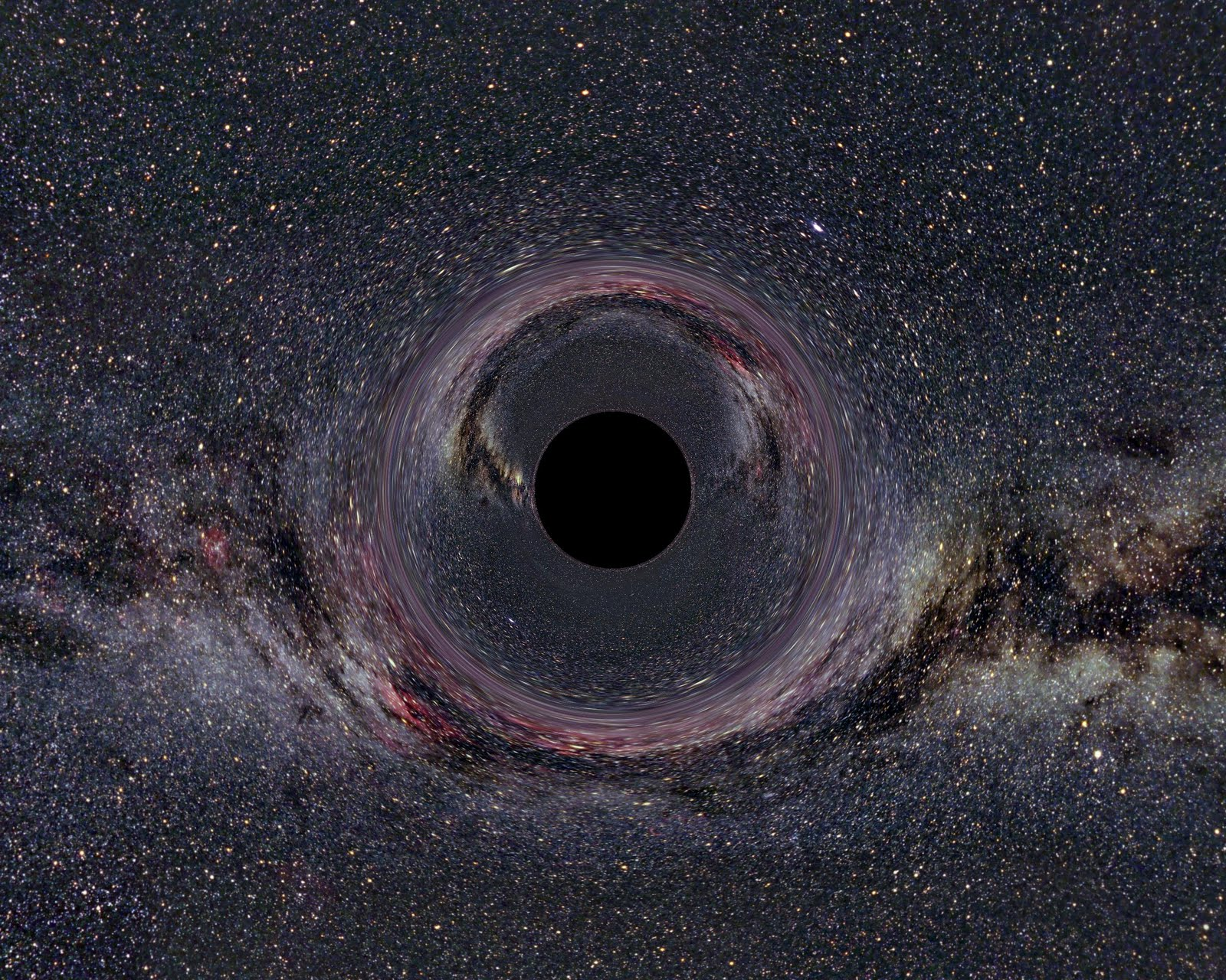 what happens if you fall into a black hole - photo #15