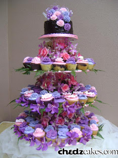 Cupcakes With Hibiscus And Carnation Sugar Flowers Chedz Cakes Of Cebu