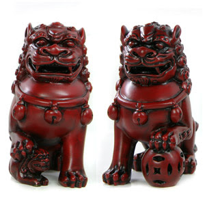 Guardian Fu Dogs, fu dogs, guardian lions, luck, protection