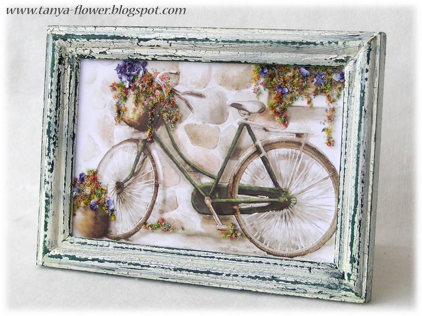 Как сделать открытку велосипед 346