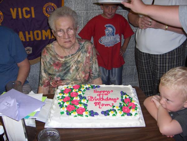 Grandm Keltch's Birthday