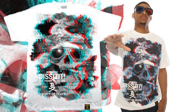 T-Shirts em 3D