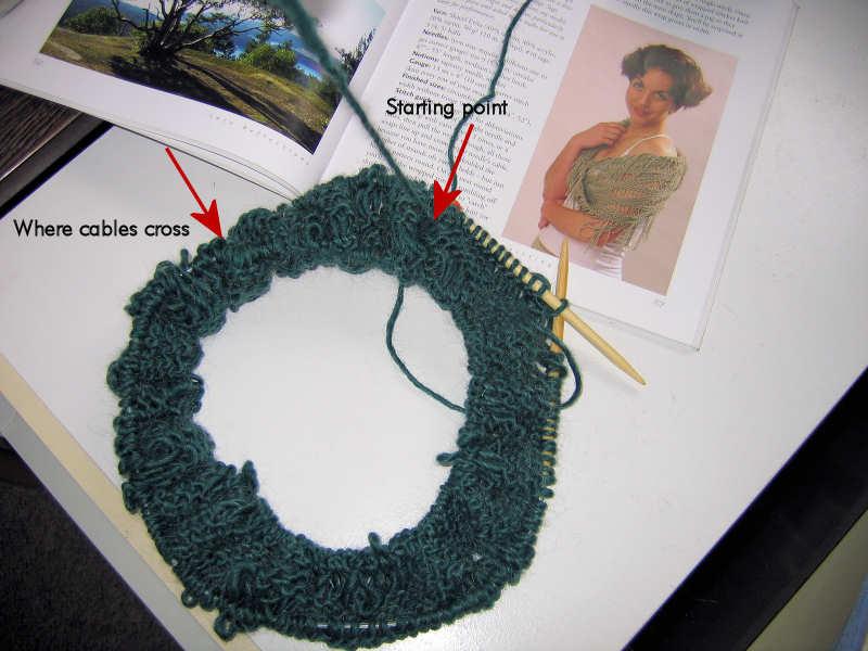 Idaho Beautys Creative Journey: Moebius Knitting