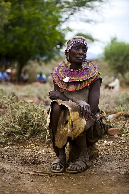 Фотоподборка. Нилоты в Кении