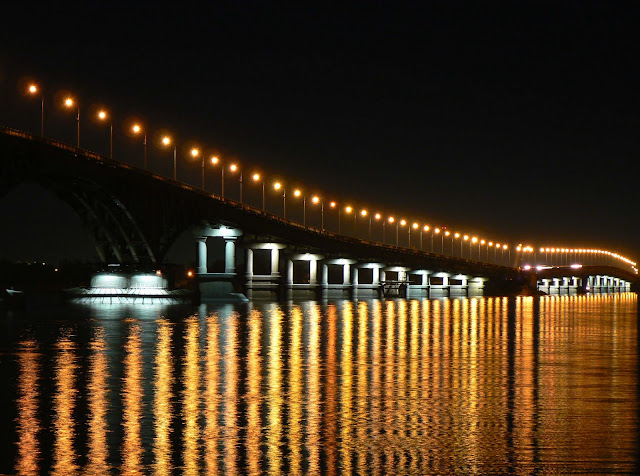 Саратовский мост. Фото