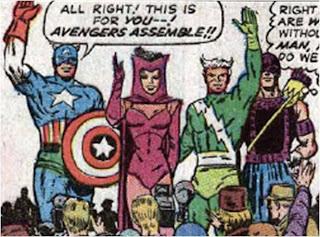 Avengers 16 Cap Kooky Quartet