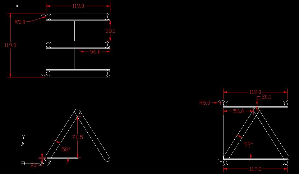Tower Crane Design : Envisioneer house design tower crane orthographic drawings