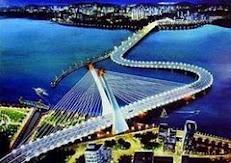 Jambatan pemisah selatan Johor