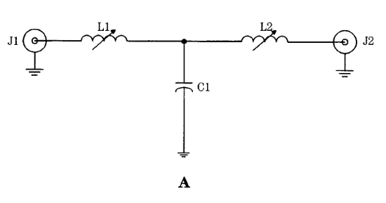 lc rf filter circuits  low