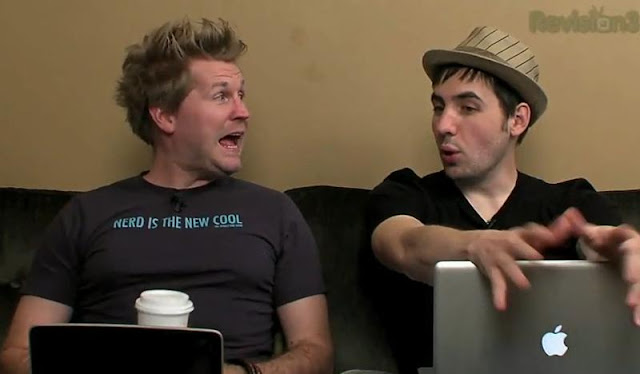 Nexus One & iSlate Revealed - Diggnation [HD VIDEO]