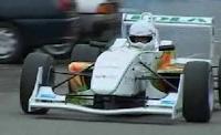 Chocolate/Recycle Powered F3 Racing Car 5/11/09