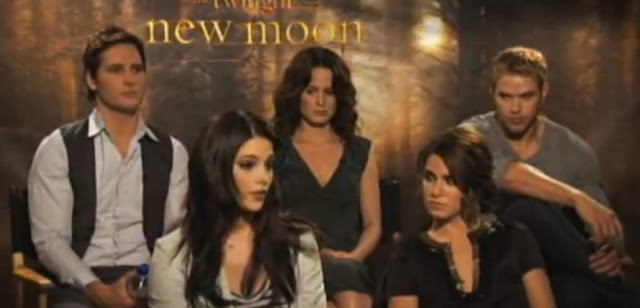 Group Inerview Twilight New Moon Cullen