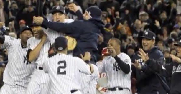New York Yankees Win 2009 World Series W/ Hideki Matsui As MVP!
