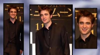 Robert Pattinson On Twilight New Moon Tour In Japan