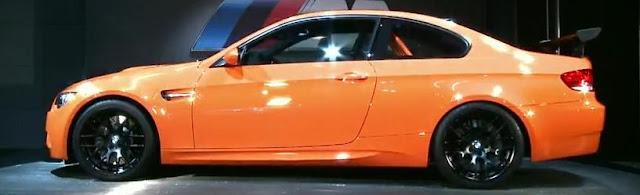 BMW M3 GTS Side