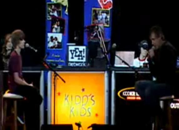 Justin Biber Interviews And Performs At Kidd Kids Day Live From Disney World