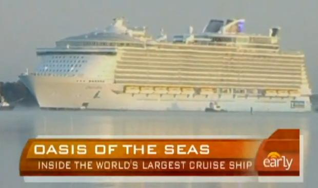 World's Largest Cruise Ship-Oasis of The Seas
