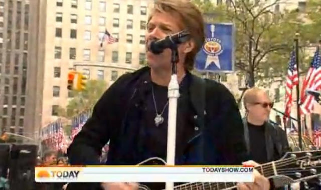 Jon Bon Jovi Honors Veterans And Performs Live On Today Show
